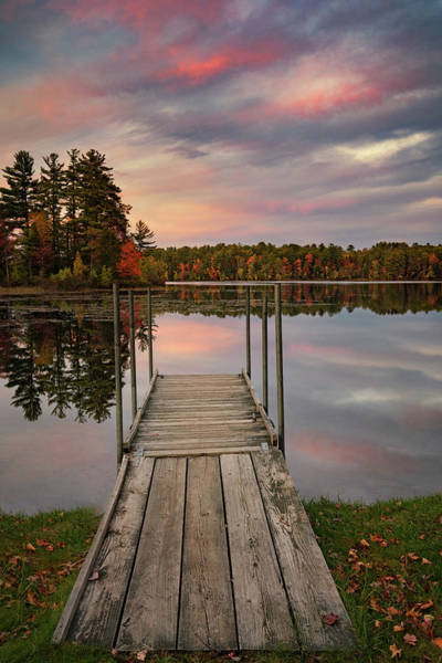 Photograph - Peaceful Fall Evening by Darylann Leonard Photography