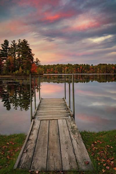 Photograph - Peaceful Fall Evening by Darylann Leonard Photography