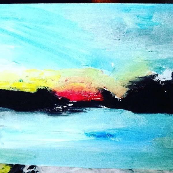 Wall Art - Painting - Peaceful Life Skies by Love Art Wonders By God