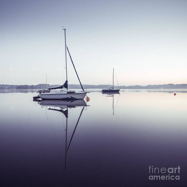 Photograph - Peaceful Moment At The Lake by Hannes Cmarits