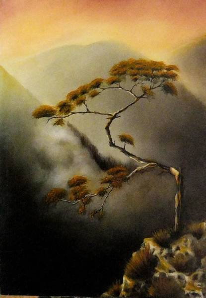 Benny Painting - Peaceful Moments by Benny Brimmer