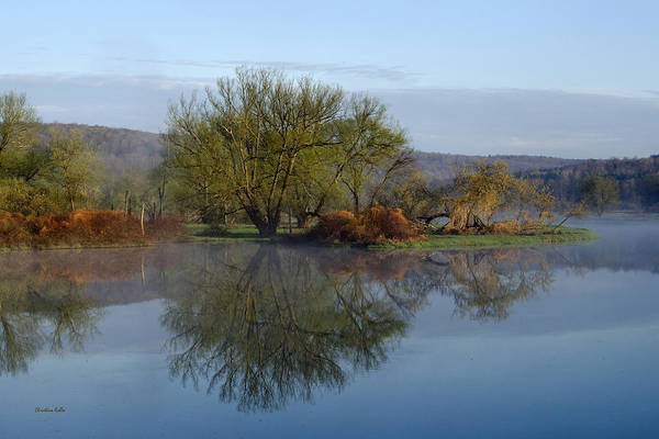 Photograph - Peaceful Reflection Landscape by Christina Rollo