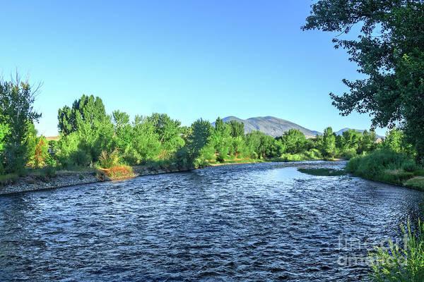 Chinook Salmon Photograph - Peaceful Salmon River by Robert Bales
