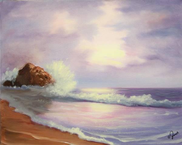 Painting - Peaceful Sea by Joni McPherson