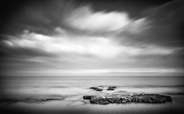 Photograph - Peaceful Sea View. by Gary Gillette