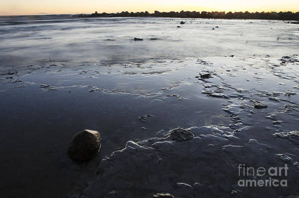 Photograph - Peaceful Shoreline Shallows by Steve Somerville