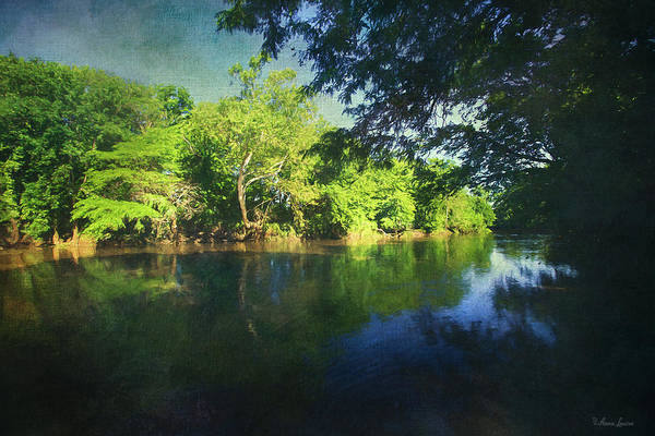 Photograph - Peaceful Summer River by Anna Louise