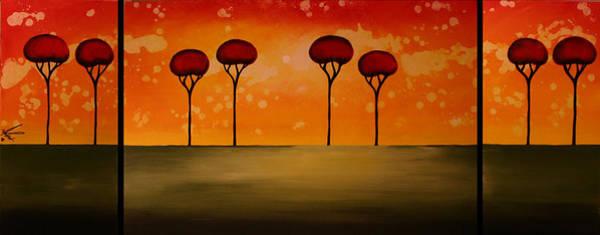 Wall Art - Painting - Peaceful View by Moran Danan