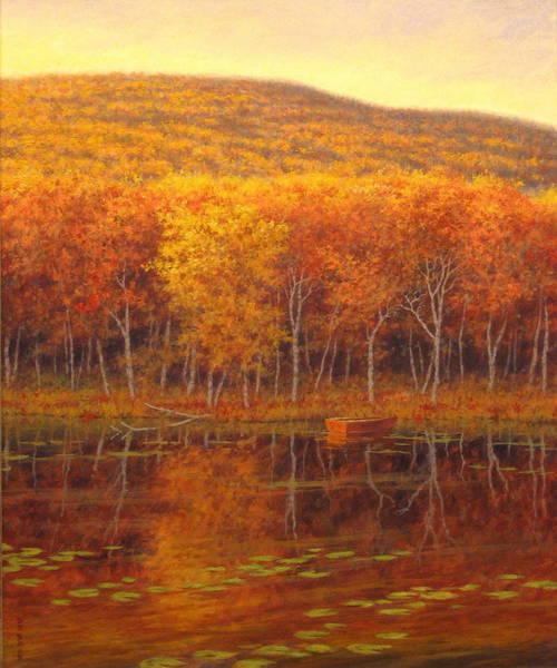 Wall Art - Painting - Peaceful Waters by Barry DeBaun
