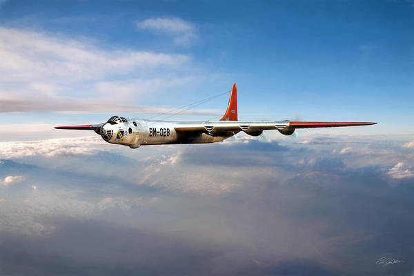 Nuclear Bomber Wall Art - Digital Art - Peacemaker by Peter Chilelli