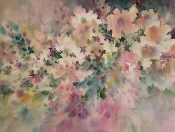 Painting - Peach Parfait by Karen Ann Patton