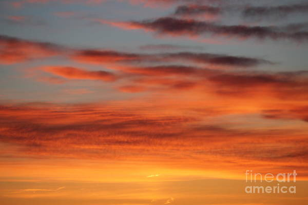 Photograph - Peach Sunrise by Donna L Munro