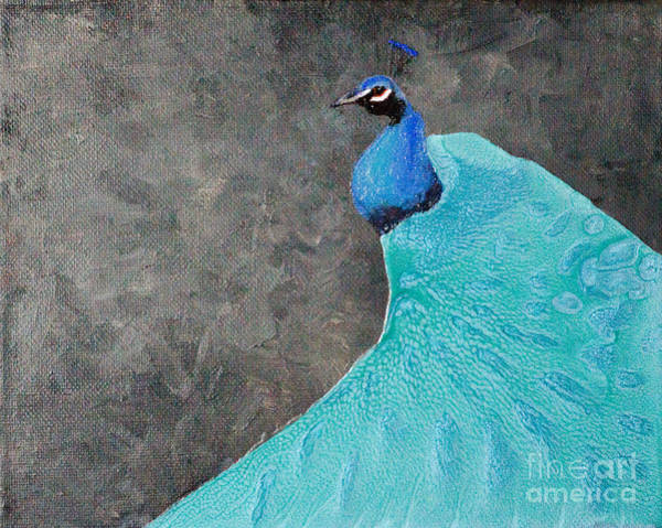 Painting - Peacock Style by Laurel Best