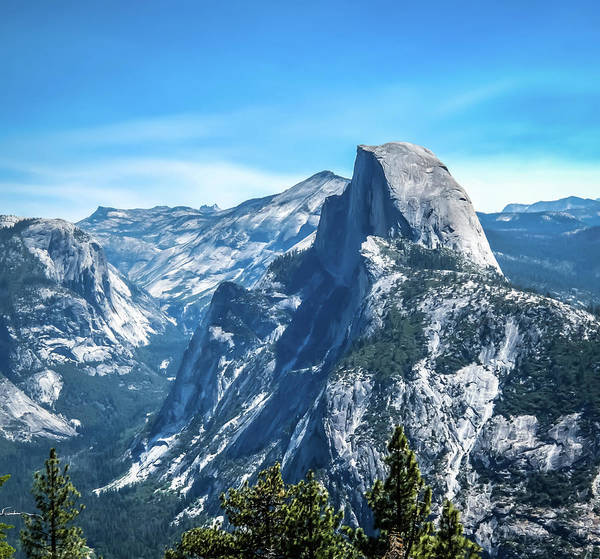 Photograph - Peak Of Half Dome- by JD Mims