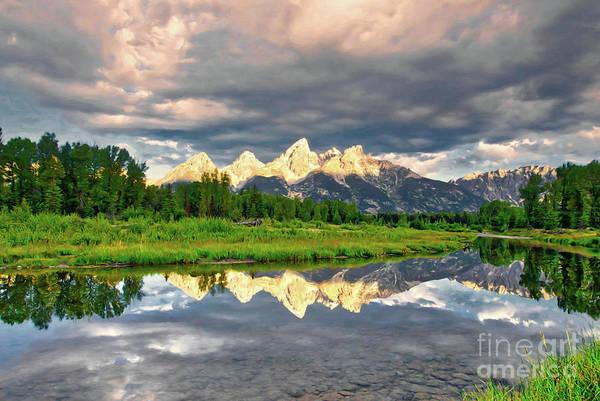 Photograph - Peak Reflections 5 by Mel Steinhauer