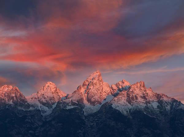 Alpen Glow Wall Art - Photograph - Peak Sunrise by Kathleen Bishop