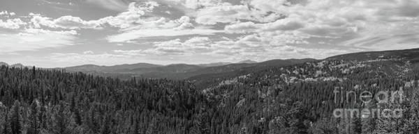 Photograph - Peak To Peak Bw by Michael Ver Sprill