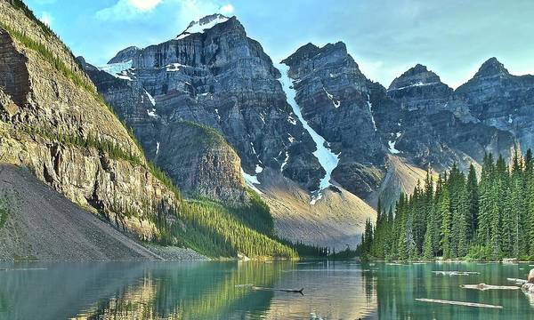 Wall Art - Photograph - Peaks And Valley by Frozen in Time Fine Art Photography