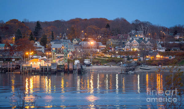 Casco Bay Photograph - Peaks From House Island by Benjamin Williamson