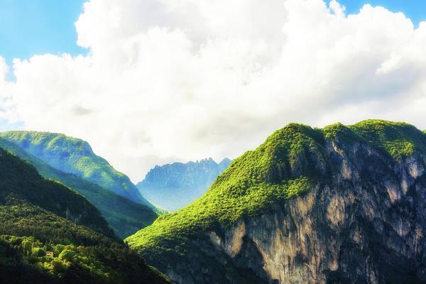 Northern Italy Photograph - Peaks In Italian Alps by Susan Schmitz