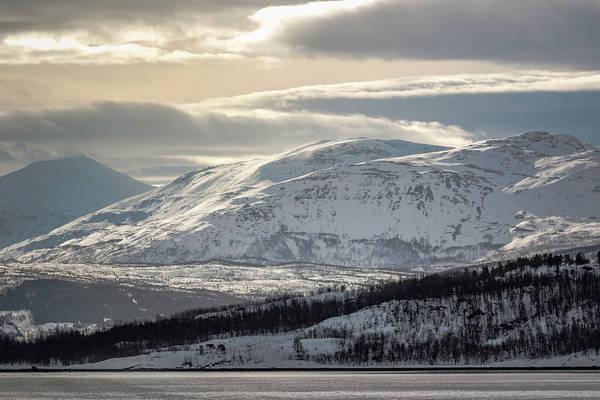 Photograph - Peaks Near Russevag Norway by Adam Rainoff