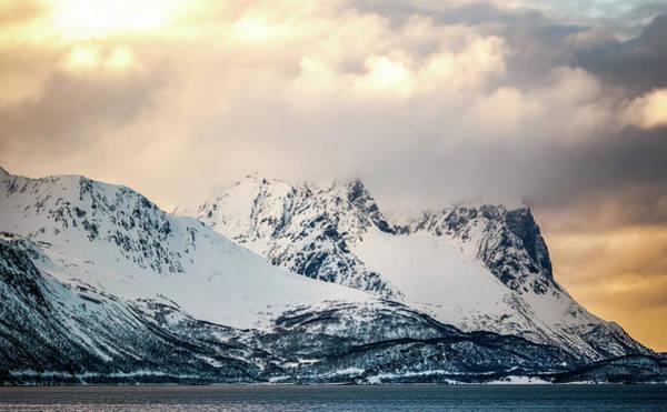 Photograph - Peaks Of Badderfjorden Troms Norway by Adam Rainoff
