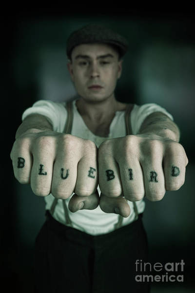 Cosplay Photograph - Peaky Blinder Tattoo by Amanda Elwell