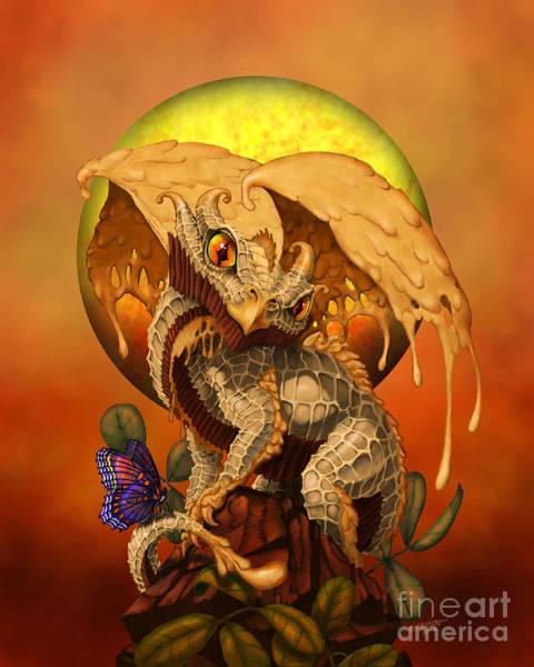Dragon Digital Art - Peanut Butter Dragon by Stanley Morrison
