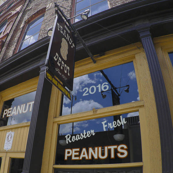 Photograph - Peanut Depot by Just Birmingham
