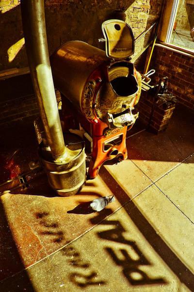 Photograph - Peanut Roaster by Just Birmingham