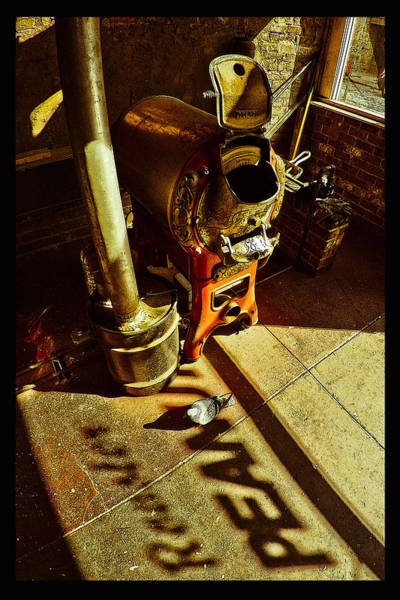Photograph - Peanut Roaster Poster by Just Birmingham