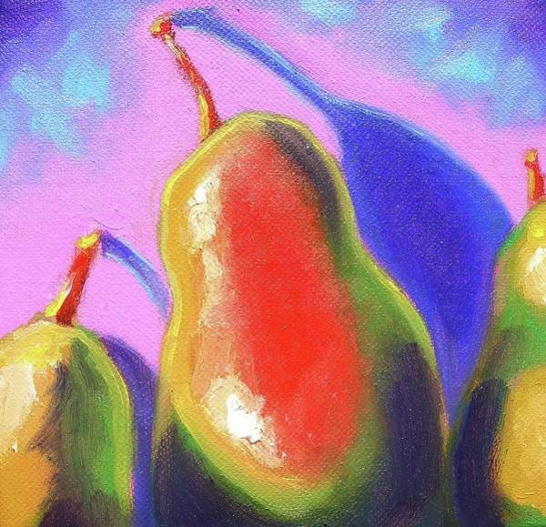 Susi Wall Art - Painting - Pear-fect by Susi Franco