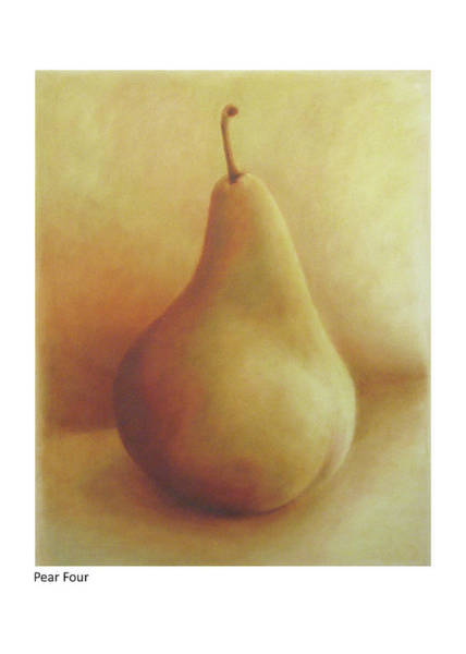 Painting - Pear Four by Betsy Derrick