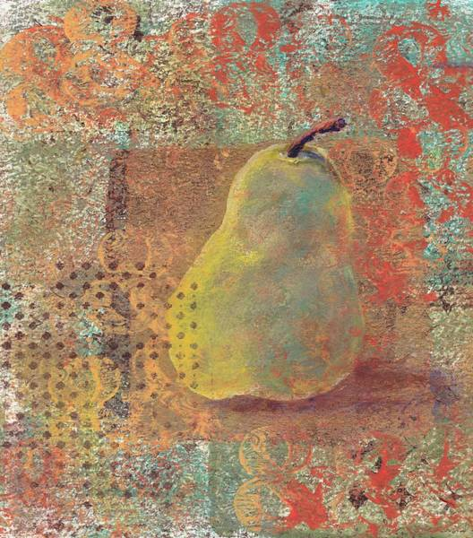 Painting - Pear by Ruth Kamenev