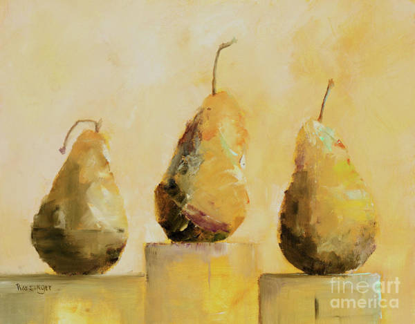 11x14 Painting - Pear Shaped Sisters by Cindy Roesinger