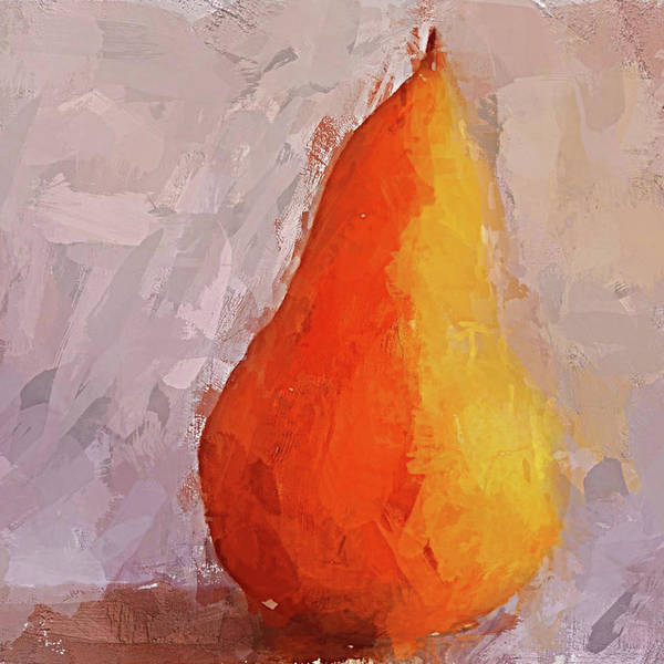 Digital Art - Pear Study by Eduardo Tavares