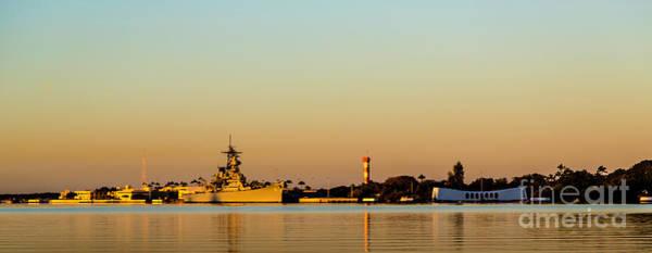 Pearl Harbor Dawn Art Print