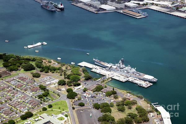 Uss Bowfin Photograph - Pearl Harbor Hawaii by Bill Cobb