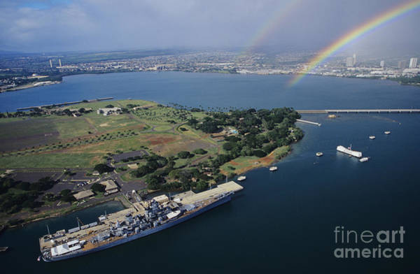 Uss Arizona Wall Art - Photograph - Pearl Harbor by Tomas del Amo - Printscapes