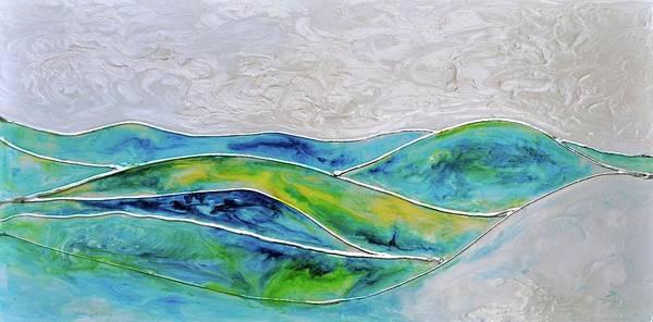 Wall Art - Painting - Pearl Sky by Debi Starr