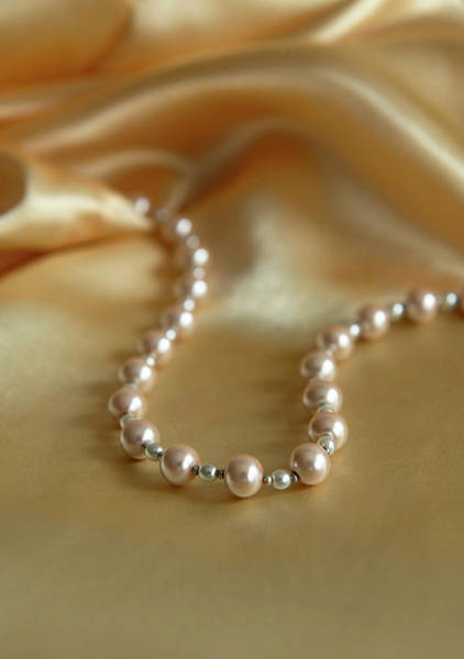 Wall Art - Photograph - Pearls And Gold by Jaroslaw Blaminsky