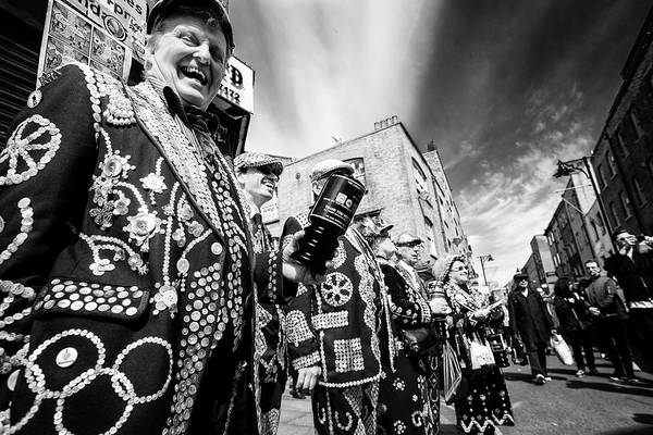 Photograph - Pearly Kings And Queens Of London Hoxton Brick Lane by John Williams
