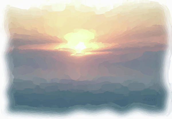 Painting - Pearly Morning Mist by Valerie Anne Kelly