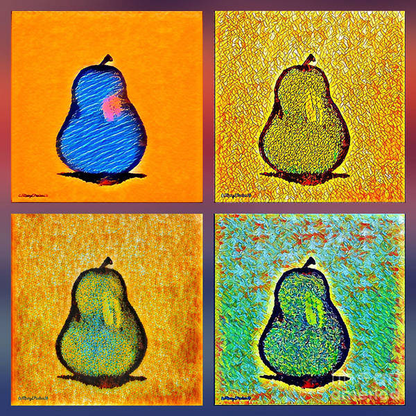 Pears And More Pears Art Print
