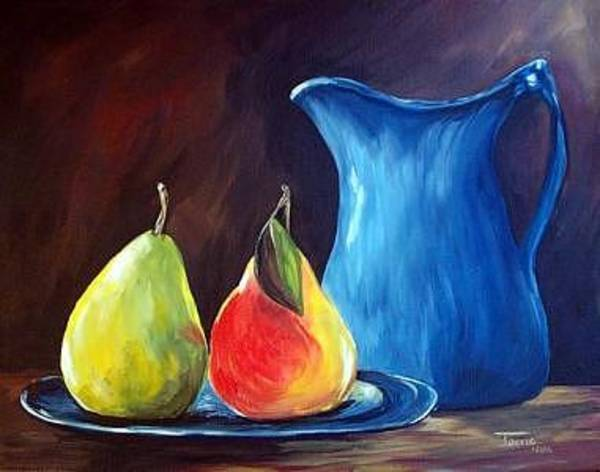 Wall Art - Painting - Pears For Breakfast - Sold by Torrie Smiley