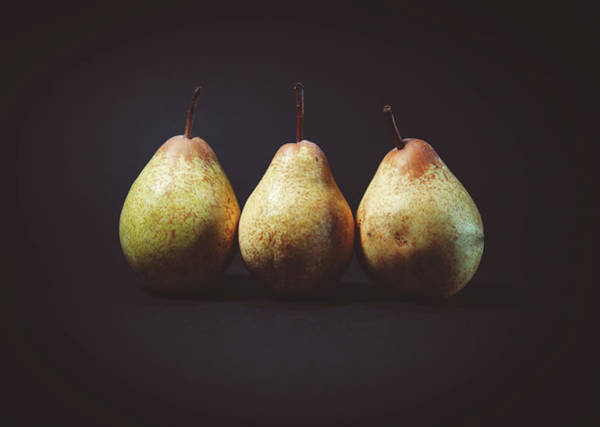 Wall Art - Photograph - Pears by Happy Home Artistry