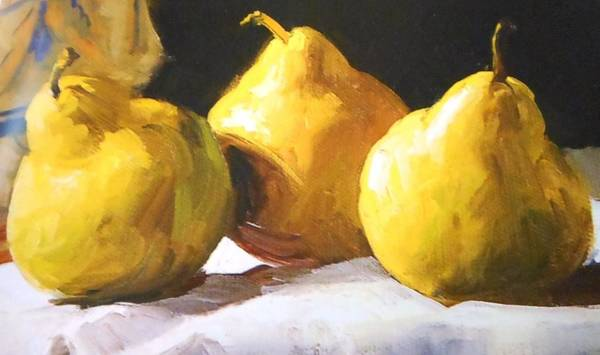 Frederick Morris Painting - Pears by Lord Frederick Lyle Morris - Disabled Veteran