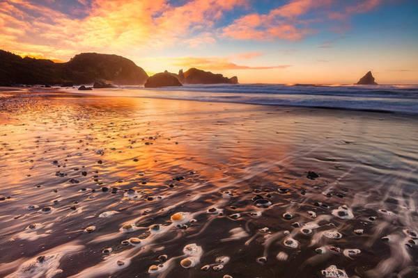 Photograph - Pebble Beach by Darren White