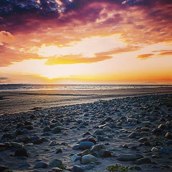 Barmouth Photograph - Pebbles On A Beach by David Harris