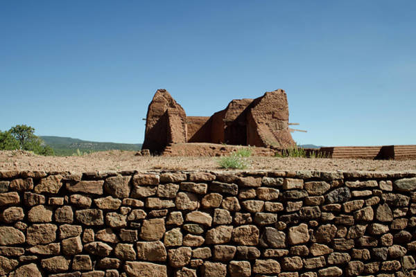 Photograph - Pecos Pueblo Ruins No. 2 by David Gordon